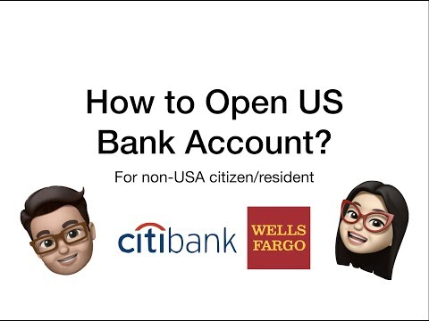 How To Open A U.S. Bank Account As Non-US Resident(Without SSN) In 2020 - All You Need To Know
