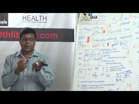 Handwriting Reflects Mental and Physical Health by Mr. Rajesh Jauhari HELP TALKS Video