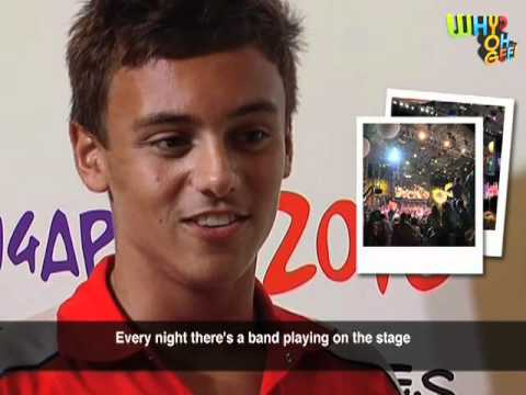 Tom Daley going to dive in Singapore!