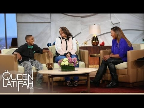 Queen Gives Lil' Kida and Mom a Big Surprise!  The Queen Latifah