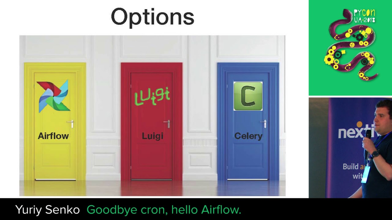 PyVideo org · Goodbye cron, hello Airflow
