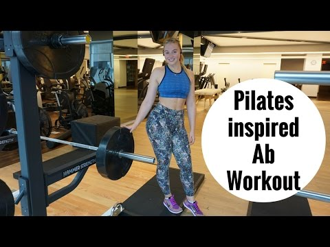 5mins AB Workout | Pilates Inspired | iskra