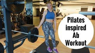 5mins AB Workout   Pilates Inspired   iskra