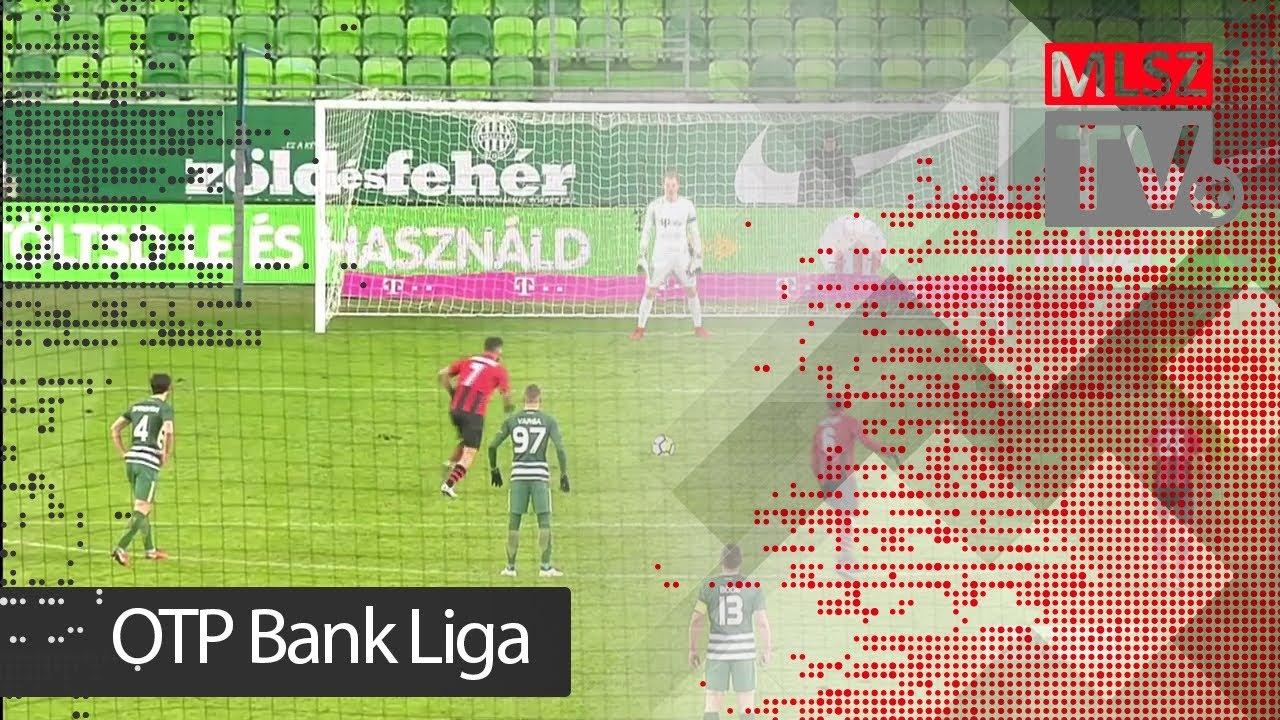 Ferencvárosi TC - Budapest Honvéd | 5-2 (3-1) | OTP Bank Liga | 20. forduló | 2017/2018 | MLSZTV