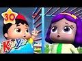I Hear Thunder | Plus More Nursery Rhymes | by KiiYii | Nursery Rhymes & Kids Songs | ABCs and 123s