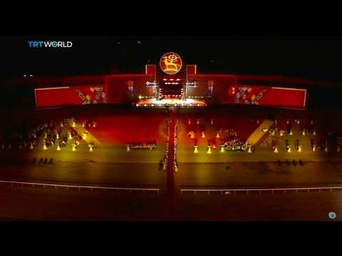 Nomad Games: Nations gather in Kyrgyzstan for nomadic sports