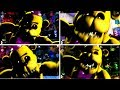 ALL FREDBEAR JUMPSCARES! Ultimate Custom Night (All Offices)