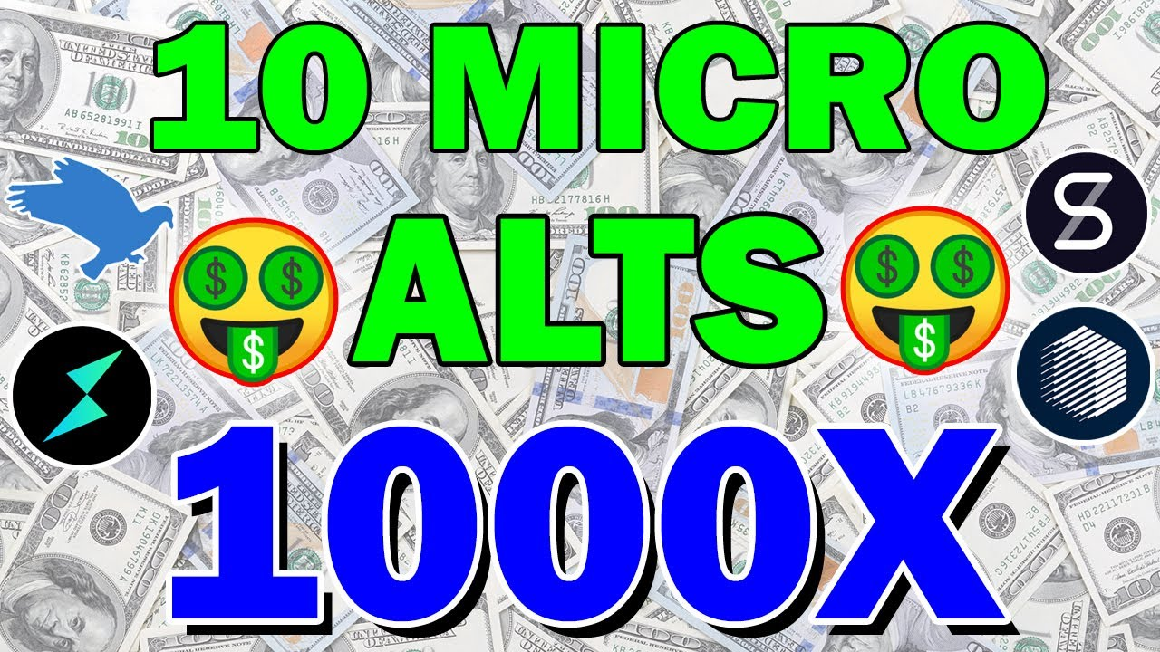 Best 10 Micro Cap Coins that could make you MILLIONS! | Deep Dive