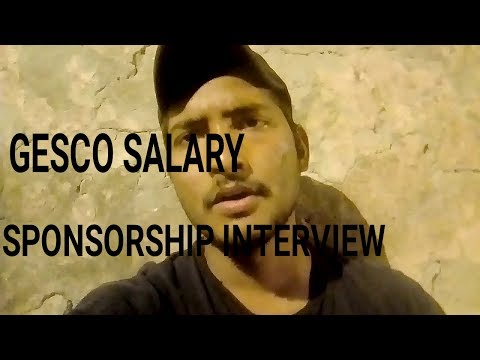 Great Eastern shipping campany (gesco)&Sponsorship Interview