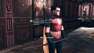 Batman Arkham City - Challenge Mode - Riddler