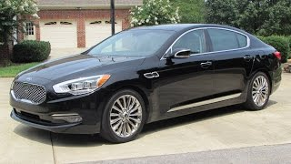 2015 Kia K900 V8 (VIP Package) Start Up, Test Drive, and In Depth Review