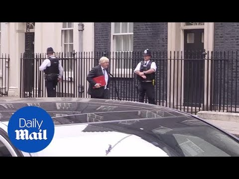 Boris Johnson resigns as Foreign Secretary