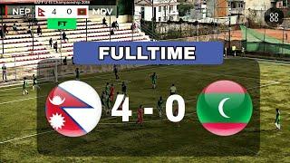 HIGHLIGHTS: NEPAL 4-0 MALDIVES • SAFF U-15 Championship 2018