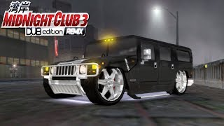 Hummer H1 DUB Edition - Midnight Club 3 DUB Edition Remix (PC Gameplay) [1080p]