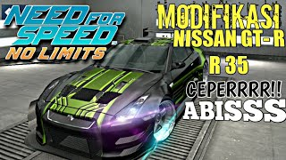 Need For Speed No Limits - Modif Nissan GT-R R35 | Upgrade bodyKiT