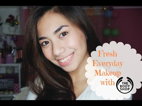 Fresh Everyday Makeup with The Body Shop (Skincare Routine) - Abel Cantika