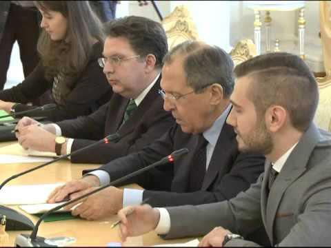 С.Лавров и С.Малькорра   Sergey Lavrov & Susana Malcorra