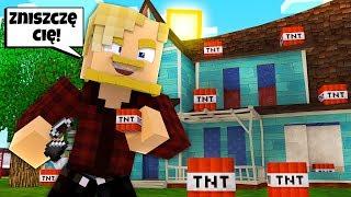 ZNISZCZYŁEM DOM SĄSIADA JANUSZA!  l Minecraft BlockBurg