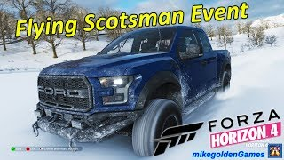 Snow Offroad Racing Flying Scotsman Event Forza Horizon 4 Episode 6