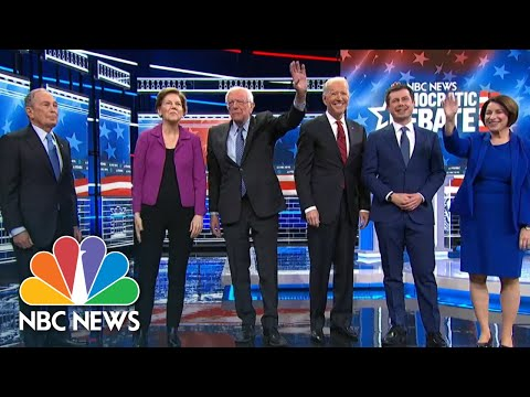 2020 Democratic Presidential Debate | NBC News (Live Stream Recording)
