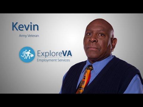 Kevin overcame homelessness with the help of VA employment services.