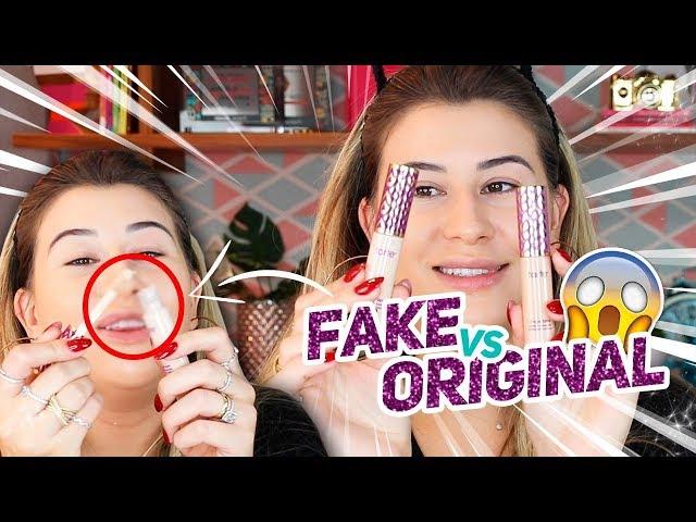 MAKE FALSA x MAKE ORIGINAL - Qual a Diferença?