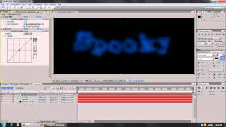 After Effects Tutorial: Spooky Ghost Text