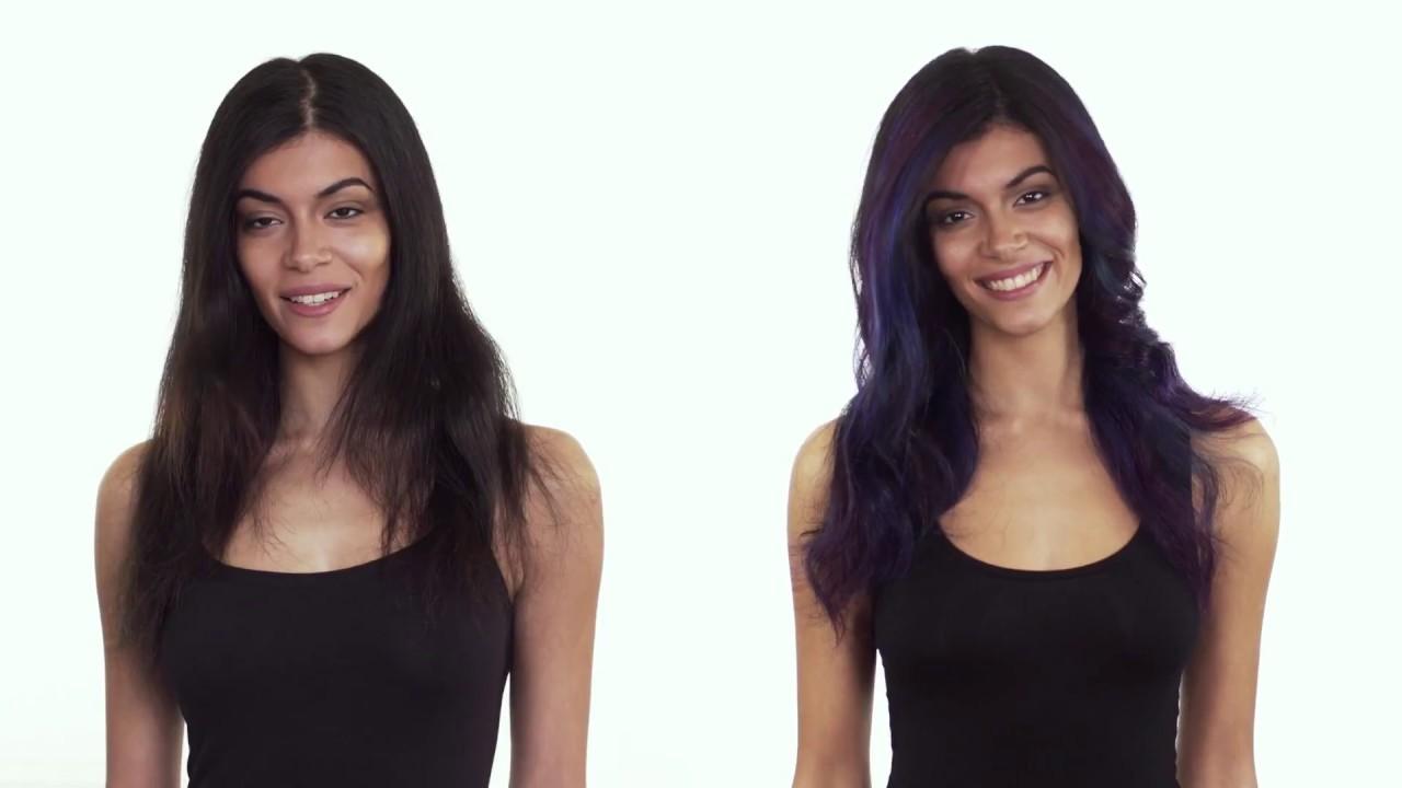 Как сделать краску цветную для волос 49