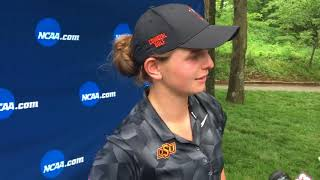 NCAA 2nd round at women's golf championships at Karsten Creek Golf Club