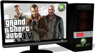 XENIA Xbox 360 Emulator - Grand Theft Auto IV (GTA 4), Gameplay, incredible