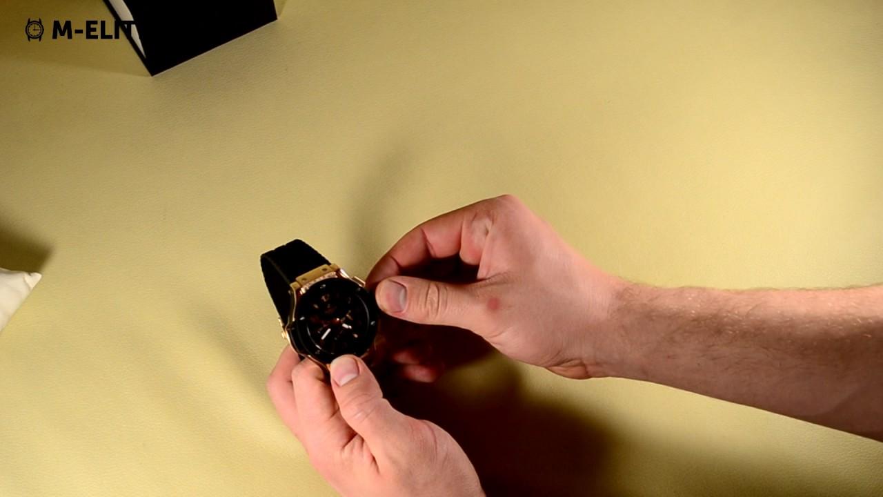 Часы HUBLOT  Big Bang Gold (Видео-обзор) - YouTube 1e08bbe4cf15d