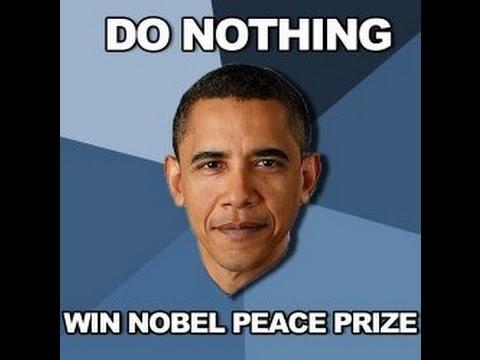 The Nobel Peace Prize is a tasteless joke