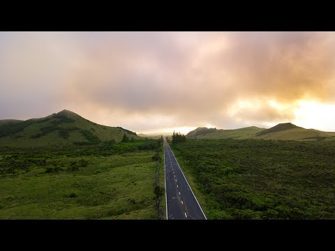 The beautiful landscapes of Pico island (Azores) [4K]
