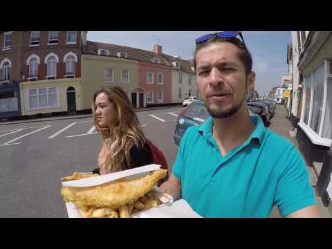 Fish And Chips In Harwich England