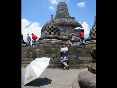 TOUR JAVA part one @VISIT TO BOROBUDUR TEMPLE, MAGELANG