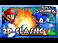 Super Smash Bros. Wii U - Classic Mode: Mario & Sonic! (2 Player)