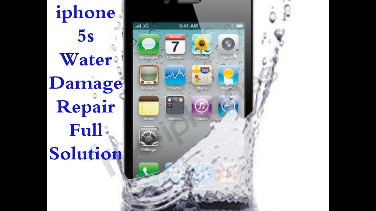 how to fix water damaged iphone how to iphone 5s water damage repair 18822
