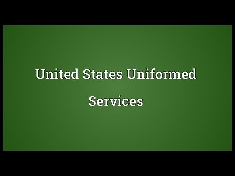 United States Uniformed Services Meaning
