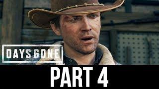DAYS GONE Gameplay Walkthrough Part 4 - HOT SPRINGS (Full Game)