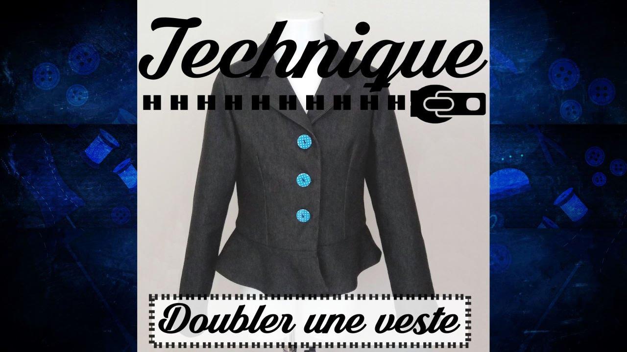 Veste Couture Pour Une Technique Doubler wRBP6