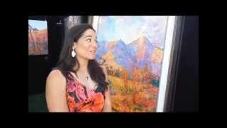 Erin Hanson Interview at Indian Wells Art Festival 2015