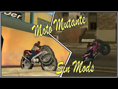 Crea tu propia Moto Mutante [Sin Mods] GTA San Andreas  Loquendo