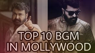 Top 10 Mass bgm's in Malayalam movies(2014-2019) | Download link in description