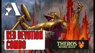 Mono Red Combo Devotion в Стандарте! MTG Arena Theros Beyond Deatn - Колода от подписчика