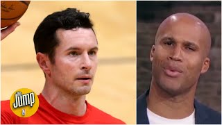 Richard Jefferson reacts to JJ Redick's trade complaints: I love JJ, but 'no one cares' | The Jump