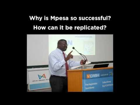 Why is Mpesa so successful?  How can it be replicated ?