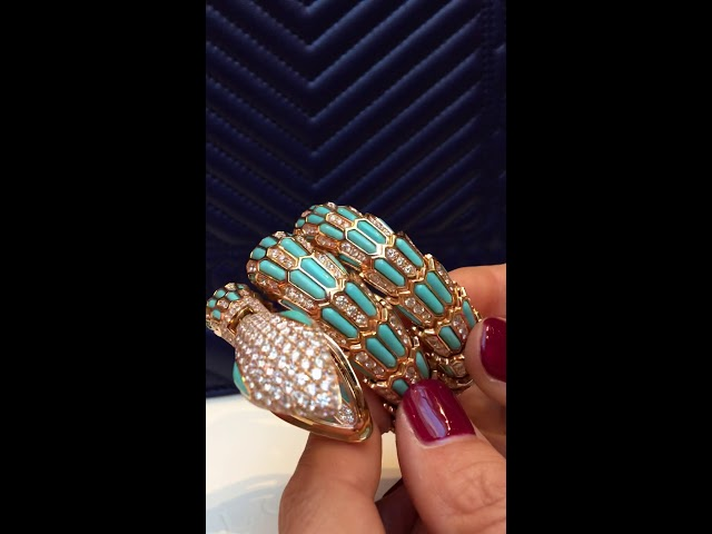Awesome Bulgari Serpenti high jewellery watch