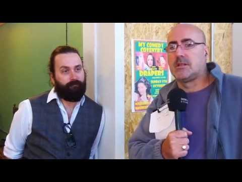 Shane talks to Barber Robert Walton