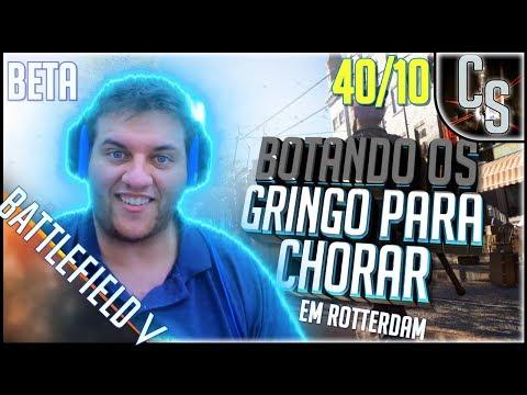 BATTLEFIELD V - BOTANDO OS GRINGO PARA CHORAR! thumbnail