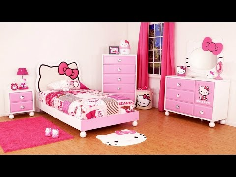 Bedroom Design Idea Hello Kitty Themes For Kids